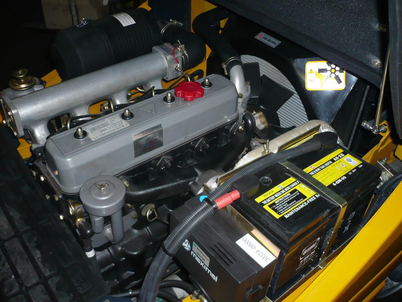 Maximal diesel motor